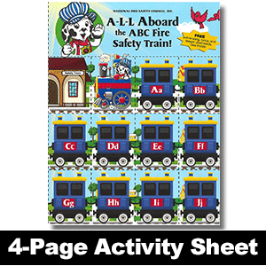 533F: A-L-L Aboard the ABC Fire Safety Train Game